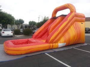 15ft Volcano Plunge Waterslide