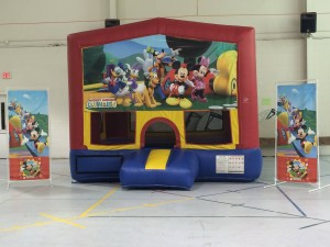 13ft Mickey Clubhouse Bounce