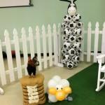 Cow Balloon Column $60