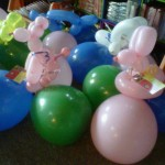 Balloon Animal Table Toppers $7