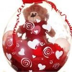 Valentines Stuffed Balloons $18 & up