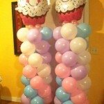 Cupcake Column Pair $80