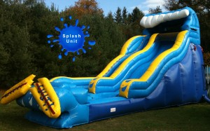 22ft Wipeout Waterslide