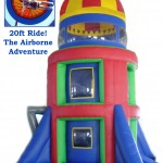 20ft Airborne Adventure Ride $175