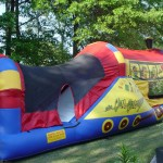 Train Combo Waterslide $185