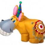 Inflatable Donkey Game Rental $10
